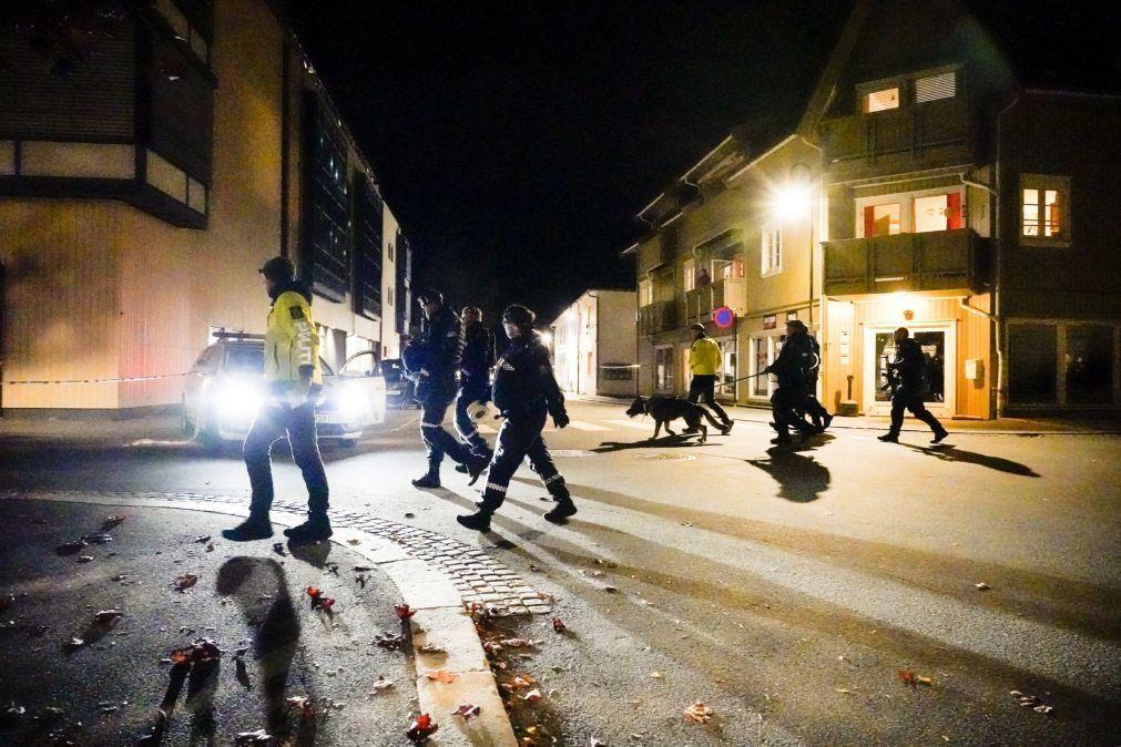 Ataque com arco e flecha na Noruega fez pelo menos quatro vítimas mortais