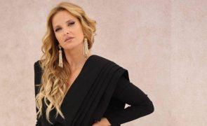Cristina Ferreira Vinga com look 'all black' e minivestido com decote vertiginoso (Fotos)