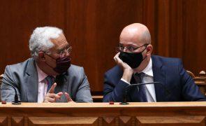OE2022: Costa e João Leão reúnem-se hoje com o Grupo Parlamentar do PS