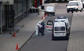 Covid-19: Rússia apresenta recordes de contaminações e mortes em 24 horas