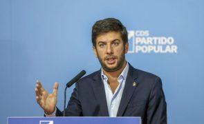 OE2022: Presidente do CDS admite adiamento do congresso em caso de crise política