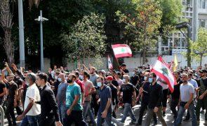 Tiroteio em protesto faz pelo menos quatro mortos e 20 feridos em Beirute