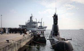Submarino Tridente deteta 280 quilos de haxixe à deriva ao largo do Algarve