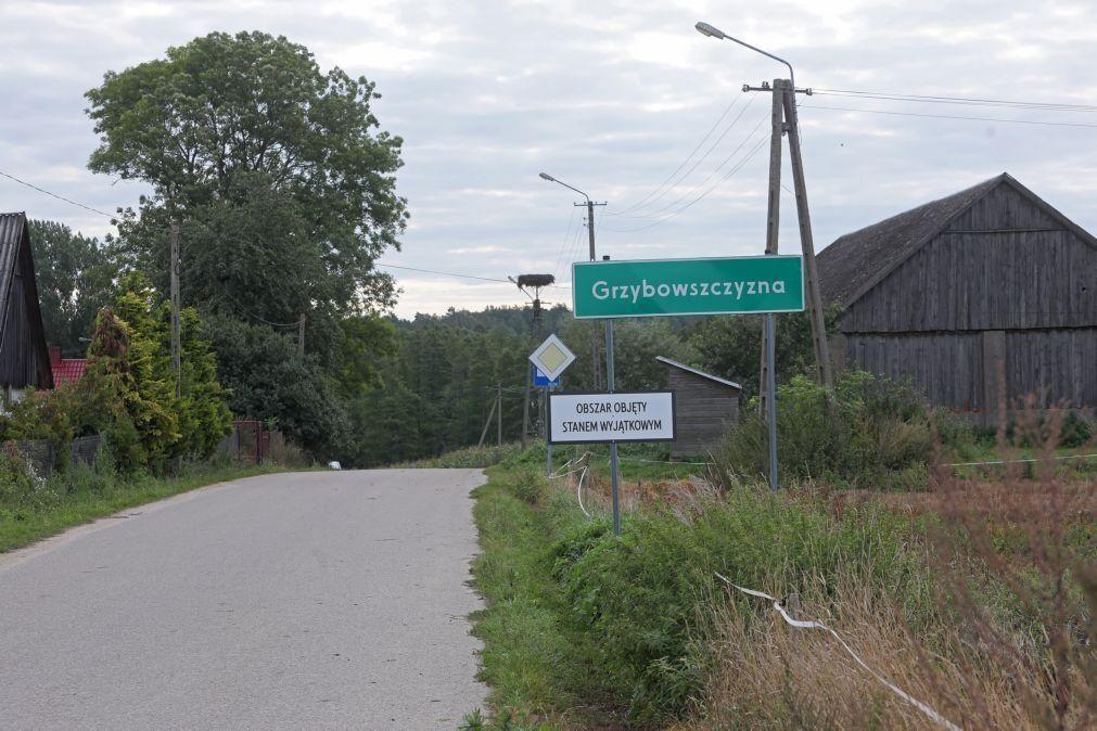 Migrações: Sobe para sete número de mortos na fronteira oriental da UE com a Bielorrússia