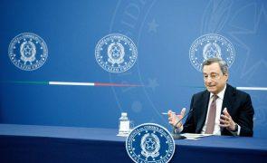 Covid-19: Itália passa a exigir passaporte sanitário a todos os trabalhadores a partir de hoje