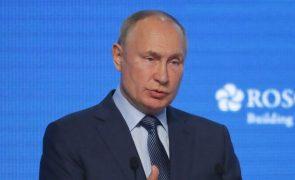 Putin diz que há dois mil membros do Estado Islâmico no norte do Afeganistão
