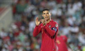 Ronaldo é o primeiro vencedor do prémio Talento que Marca o Mundo