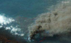 Autoridades de Cabo Verde associam redução de visibilidade à erupção nas Canárias