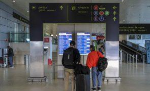Movimento nos aeroportos portugueses sobe 2,3% até setembro para 15,2 milhões de passageiros