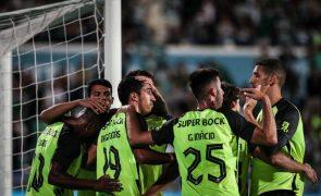Sporting bate Belenenses e está na fase seguinte da Taça de Portugal