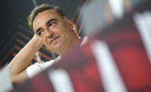 Carlos Carvalhal quer Sporting de Braga a melhorar níveis de concentração