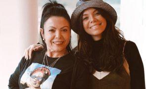 Mel Jordão Funeral da mãe aconteceu no dia em que a irmã fez anos