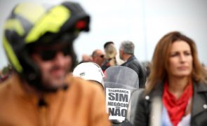 Cerca de 3.000 motociclistas protestam no Porto contra inspeções