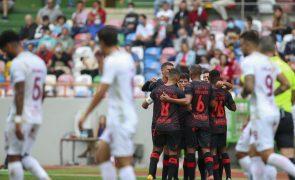 Santa Clara afortunado vence União de Leiria e segue em frente na Taça de Portugal