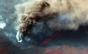 Erupção de lava em La Palma regista fortes explosões e voos são cancelados