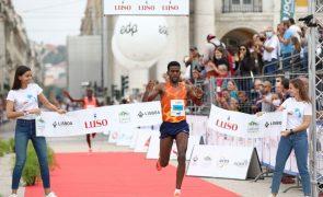 Etíopes vencem 'meia' de Lisboa, Samuel Barata e Solange Jesus os melhores lusos