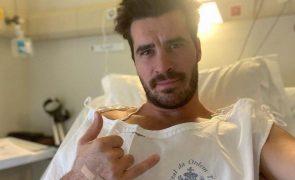 Pedro Sousa está internado.