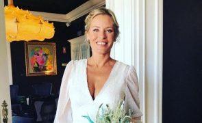 Bárbara Elias casa-se em segredo três anos após separação de Nuno Graciano