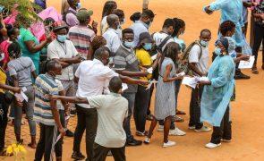 Covid-19: Angola confirma mais 53 casos nas últimas 24 horas
