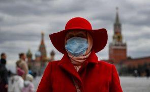 Covid-19: Rússia regista mais um recorde de casos com mais de 34 mil em 24 horas