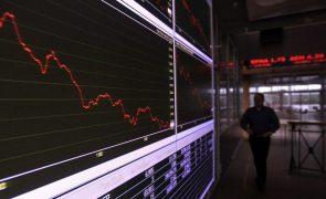 PSI20 cai 0,70% em linha com descidas na Europa