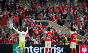 LE: Braga com jogo decisivo na Bulgária para continuar na corrida aos 'oitavos'