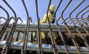 Produção na construção recua em agosto na UE e Portugal regista a maior subida mensal