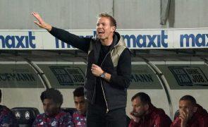 Julian Nagelsmann quer Bayen a 'imitar' em Lisboa exibição de Leverkusen