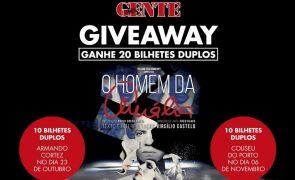 Giveaway Nova Gente – 20 bilhetes duplos para assistir ao espetáculo Homem da Amália