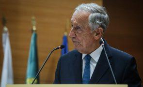 Marcelo sugere avaliação intercalar da execução de fundos europeus em 2022