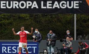 LE: Sporting de Braga procura segunda vitória na visita ao Ludogorets