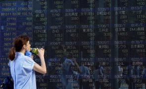 Bolsa de Tóquio fecha a perder 1,87%