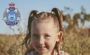 Polícia australiana oferece quase 650 mil euros por informações sobre menina desaparecida