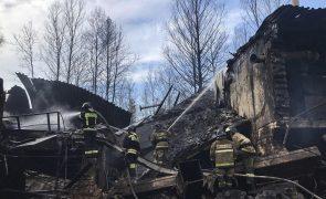 Balanço de fogo em fábrica de explosivos no oeste da Rússia sobe para 16 mortos