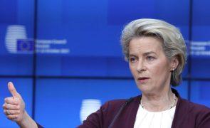 Von der Leyen promete que UE não financiará muros para travar migrantes