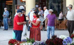Covid-19: Madeira reporta 17 novos casos e 86 situações ativas