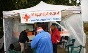 Covid-19: Bulgária admite enviar doentes para o exterior perante vaga de infeções