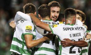 Sporting vence Moreirense e iguala FC Porto na liderança da I Liga