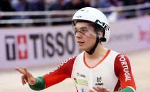 Ciclista Iuri Leitão vice-campeão do mundo na prova de eliminação