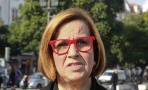 Margarida Martins arguida após buscas na Junta de Arroios e em casa
