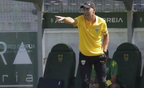 Treinador de Tondela admite