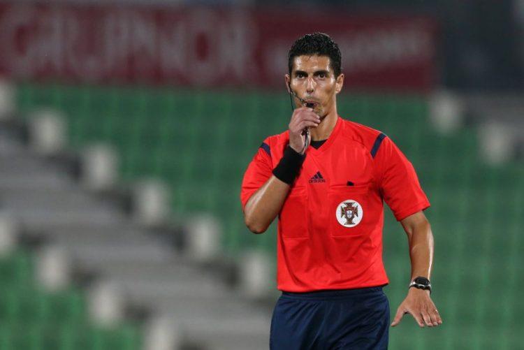 Árbitro Luís Ferreira no Benfica-Boavista