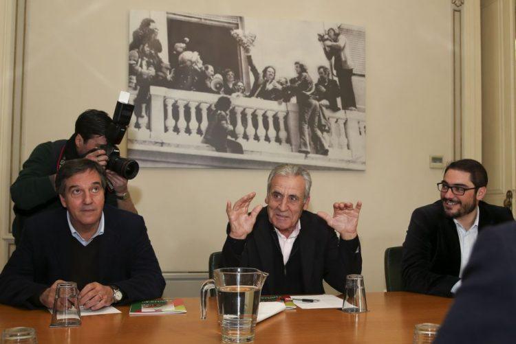 Jerónimo de Sousa reafirma coerência do PCP contra TSU e