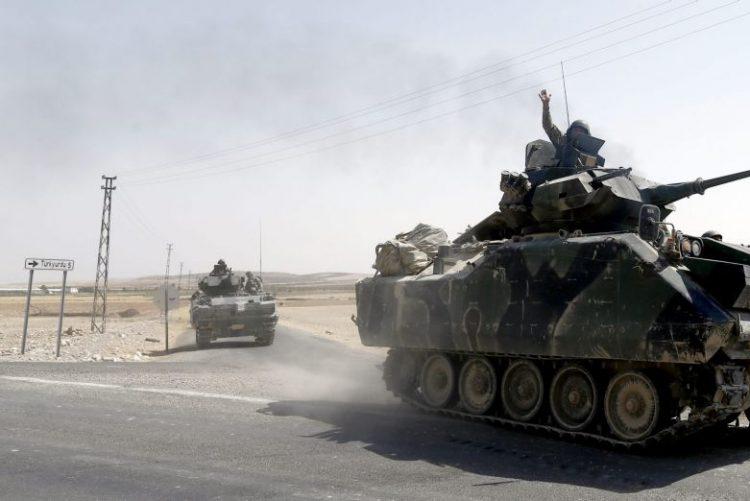 Exército turco anuncia que matou mais de 1.500 militantes do Estado Islâmico
