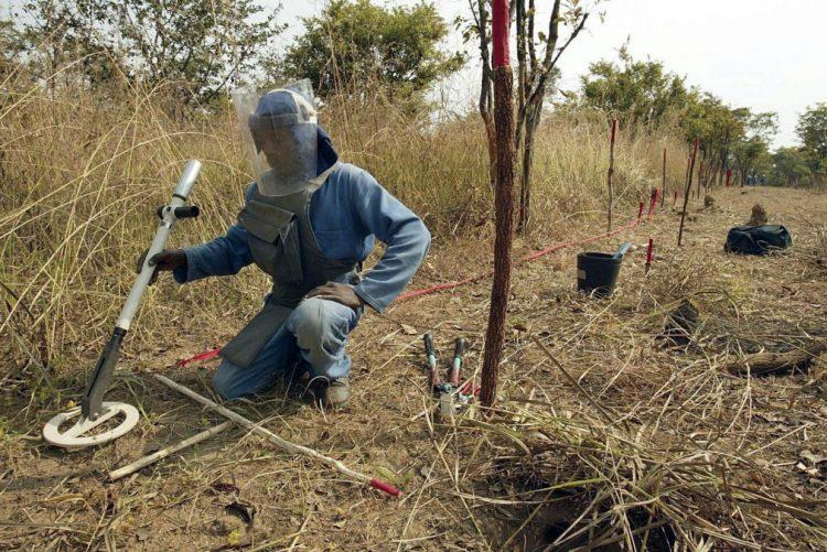 Angola precisa de 246 milhões de dólares para meta de desminagem