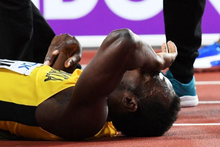 Bolt lesiona-se na corrida final nos Mundiais atletismo