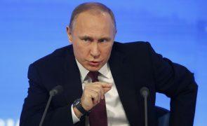 Putin promete partir os dentes a quem ameaçar integridade territorial russa